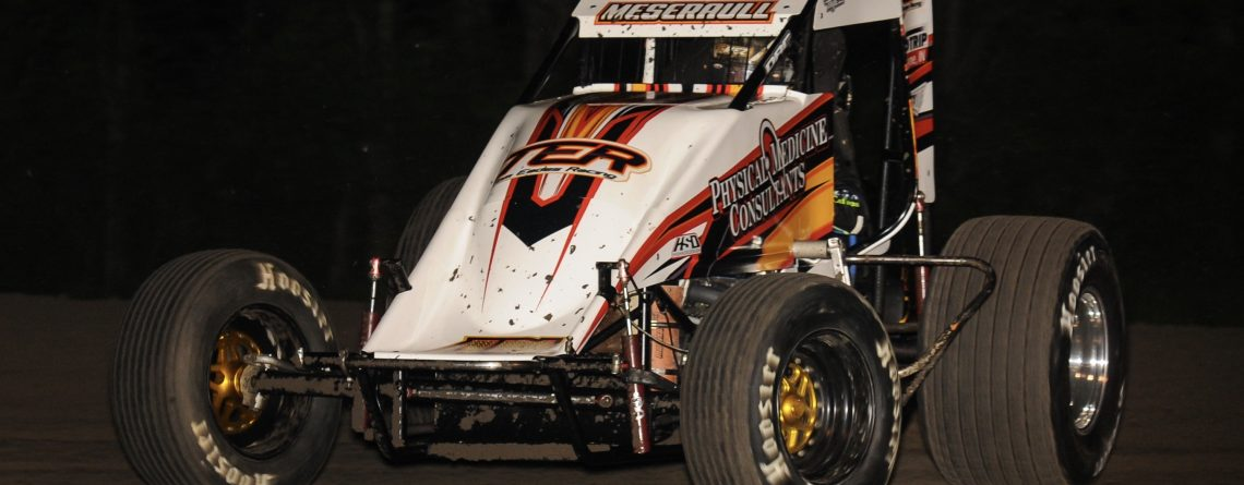 Meseraull Tops Sprint Car Feature In 'Open-Wheel Madness