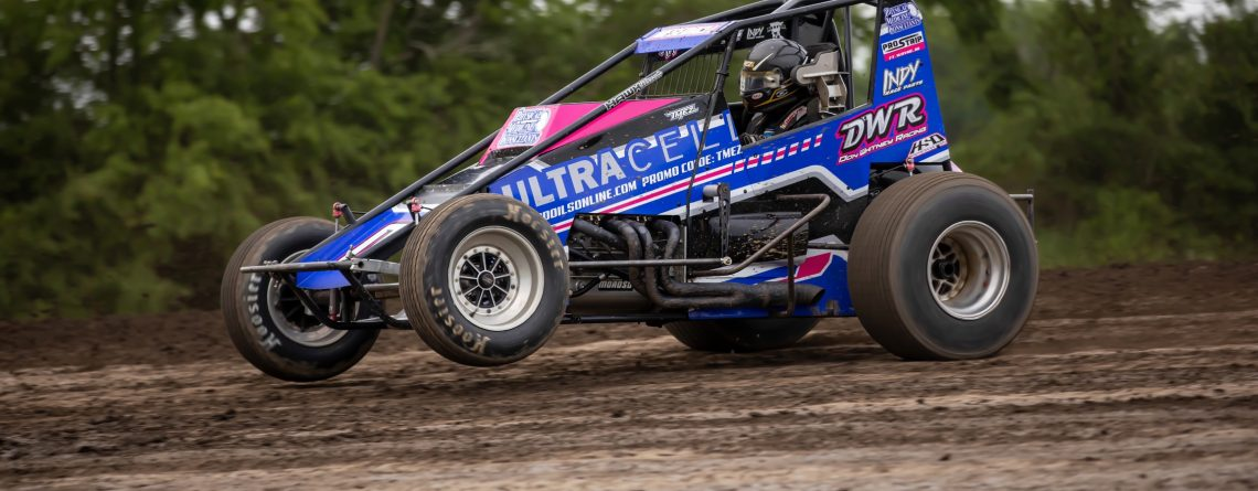 Meseraull Tops 39 Other Sprint Car Drivers To Win Jerry