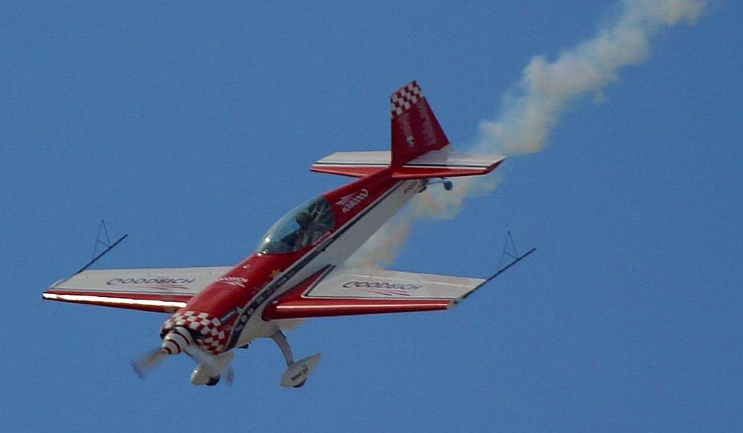 Gary Ott's Spectacular Aerobatic Flying To Be Featured