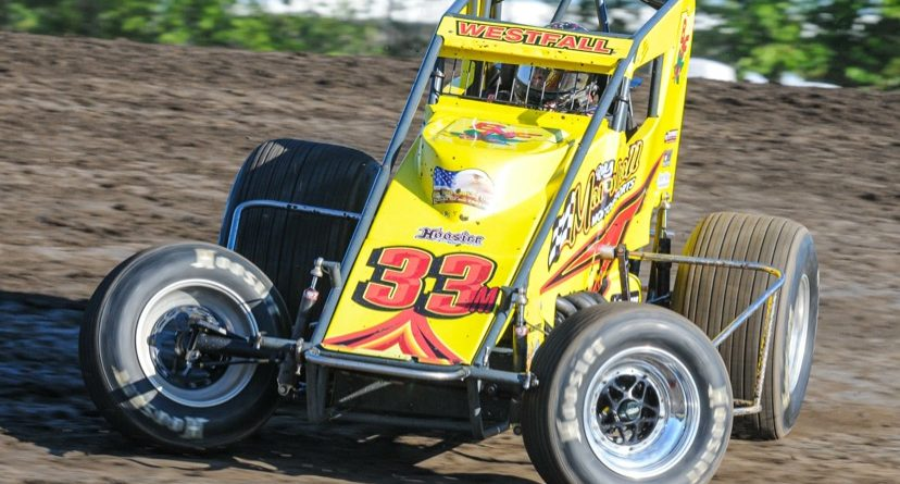 Westfall Paxson Losh Headley And Hicks Win Features During